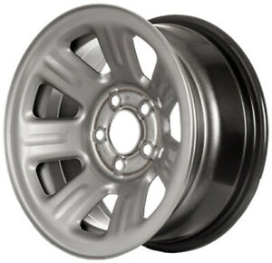 New Replacement 15 Silver Steel Wheel Rim For 2000 2011 Ford Ranger