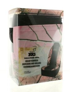 New Realtree Girl Pink Camo Universal Seat Cover Rsc2504 A4