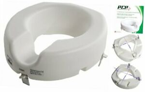 Pcp 5 Elevated Toilet Seat Universal Fit Tall Profile Rise Height Lift