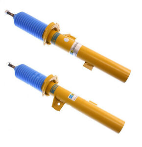 2 Bilstein B6 Left Right Front Struts Shocks Absorbers Dampers Assembly For Bmw