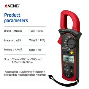 Aneng St201 Digital Clamp Multimeter Ammeter Transistor Tester Voltage Tester Me