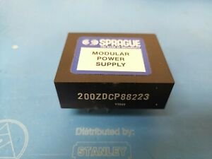 Sprague Modular Power Supply Module 200zdcp88223 New Pcb Mount