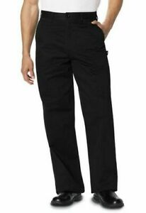 Dickies Chef Men s Classic Zip fly Dress Pant Dc16 Black Size M
