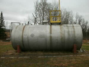 Kennedy Tank 7 400 Gallon Stainless Steel Tank W emergency Relief Venting