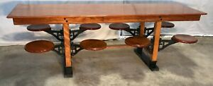 8 Industrial Table Swing Out Seats General Country Store Kitchen Island