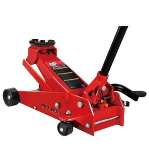 3 5 ton Steel Floor Jack Smooth Steady Lift 360 Degree Swivel Strong Durable
