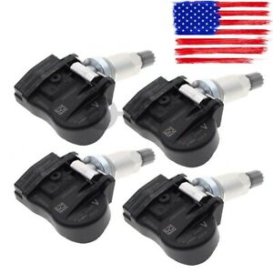 4pcs 40700 3an0a Tire Pressure Monitor Sensor Tpms For Nissan Frontier Sentra