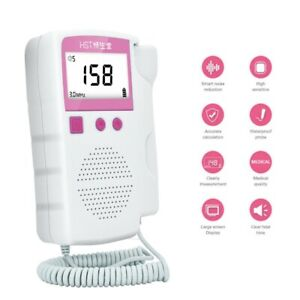 3 0 Mhz Probe Prenatal Fetal Doppler Heartbeat Monitor Ultrasonic Detector U