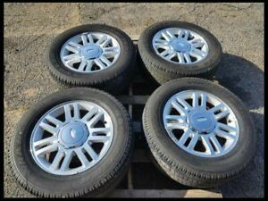 2009 2014 Ford F150 Pickup Truck Lariat 18 Inch Rims Wheel Goodyear Tires Set