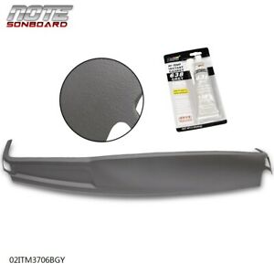 Molded Abs Dash Cover Cap Overlay Front Section For 2002 2005 Dodge Ram 1500