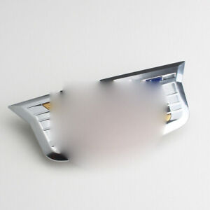 New Silver Front Grille Cadillac Emblem Badge For 2015 2016 Ats Elr Xts Escalade