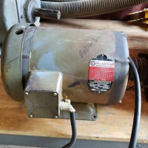 Rockwell 96 449 Motor 7 5 Hp woodworking Machinery