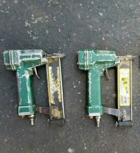 Omer Brad Nailer Lot Of 2 Mg30 woodworking Machinery