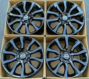 21 Gloss Black Oem Range Rover Supercharged Autobiography Wheels Rims 72246