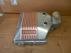 Vortech Maxflow Carburetor Turbo Air Box Assembly Polished