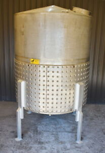 1700 Gallon Jacketed Stainless Steel Storage Tank