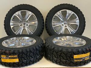 20 Ford F150 Expedition Set 4 04 19 Polished Factory Oem Wheels Rims Tires Offr