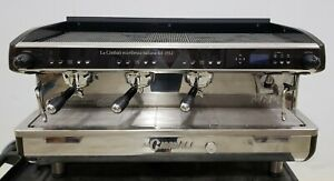 La Cimbali Traditional Commercial Espresso Machine Mod M34 Selectron 3 Groups