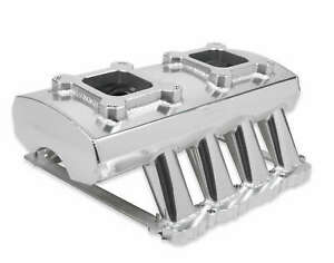 Sniper Sheet Metal Fabricated Intake Manifold Dual Quad For 2005 09 Ford 4 6l