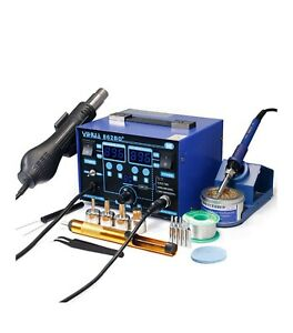 Yihua 862bd Smd Esd Safe 2 In 1 Soldering Iron Hot Air Rework Station f c