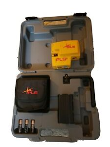 Pacific Laser Systems Pls 4 Red Combination Line And Point Laser Level