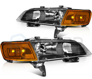 Headlights Assembly For Honda Accord 1994 1997 Front Left Right Pair Headlamps