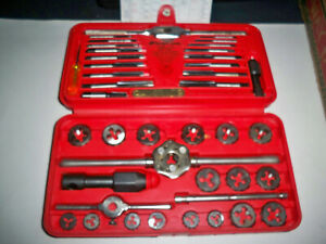 New Snap on Tdm117a 41 piece 3 To 12 Mm Nf Nc Metric Tap And Die Set Made Usa