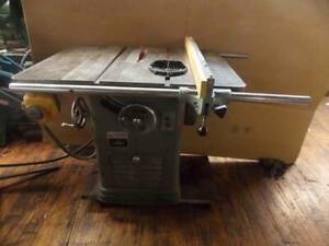 Rockwell 10 Unisaw W fence And Miter Gage