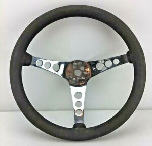 Vintage Superior Performance The 500 14 5 Rubber Steering Wheel Fast Ship H27