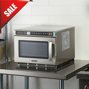 Heavy Duty Commercial Microwave With Usb Port High Wattage 1800 Watts 208 240v