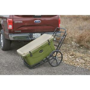 Hitch Mount Cargo Carrier Steel Converts To Cart 2 Receiver Rack Hauler 500 Lbs