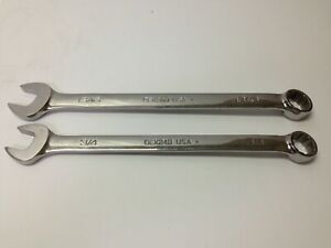 Snap On 2pc Sae Combination Wrench 3 4 13 16 Oex24b Oex26b