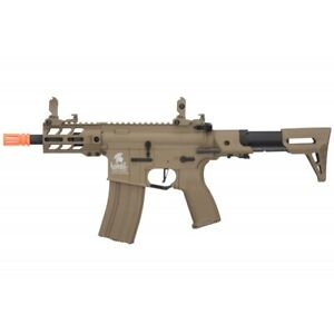 Lancer Tactical Airsoft Enforcer Hybrid Gen 2 BATTLE HAWK 4quot; PDW AEG TAN $209.00
