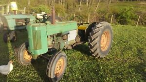 1955 John Deere 40 Utility Antique Tractor No Reserve 3 Point Pto Farmall Allis