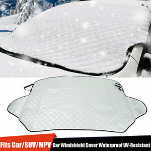Sun Shade Protector Winter Snow Ice Rain Dust Frost Guard Car Windshield Cover