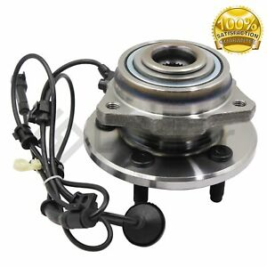 513176 Front Wheel Bearing And Hub Assembly Fits 2002 2007 Jeep Liberty W Abs