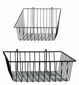 Gridwall And Wire Grid Baskets Bundle 4 Baskets Included
