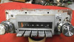 1969 1970 1971 1972 Gto Lemans Tempest Grand Prix Am Fm Radio Serviced Warranty