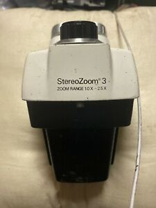Bausch Lomb Stereo Microscope Stereozoom 3 10x 2 5x