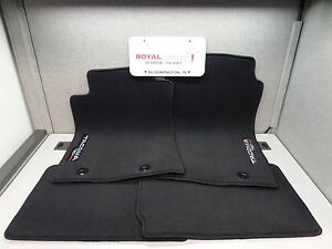 Toyota Tacoma Access Cab Trd Pro Black Carpet Floor Mats Genuine Oem Oe