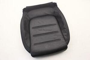 Vw Touareg 7p 2015 2016 2017 Front Driver Seat Lower Cushion Pad Leather Oem