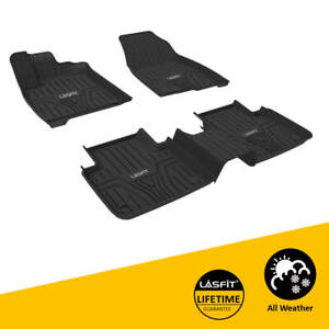 Car Floor Mat For Honda Odyssey 2018 2020 1st 2nd 3rd Rows All Weather Black Tpe
