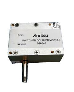 Anritsu Wiltron 40 Ghz Switched Doubler Module D28540