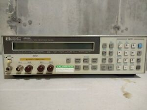 Agilent Hp 4349a High Resistance Meter 4 Channels