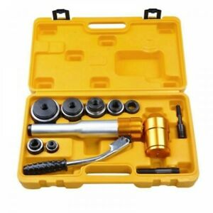 Hydraulic Knockout Punch Driver Kit Hole Digger Hand Pump Tool Tpa 8 6ton