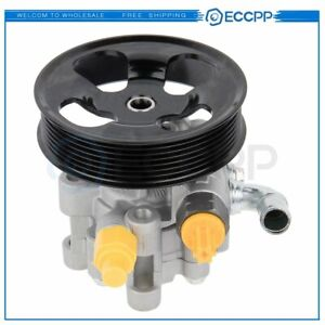 For Toyota Rav4 2001 2005 Power Steering Pump W Pulley 2 4l I4 Gas Dohc 21 5276
