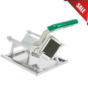 1 4 Heavy duty French Fry Cutter Slicer Dicer Copper Commercial Wall Mount Nsf