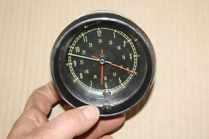 1965 1966 1967 Corvette Factory Borg Original Dash Analog Clock Core