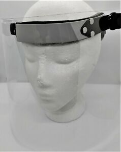 Face Shield For Dental Applications Color Gray