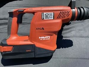 new Hilti Te 6 a36 Avr 36v Cordless Rotary Hammer Drill With 36v Battery